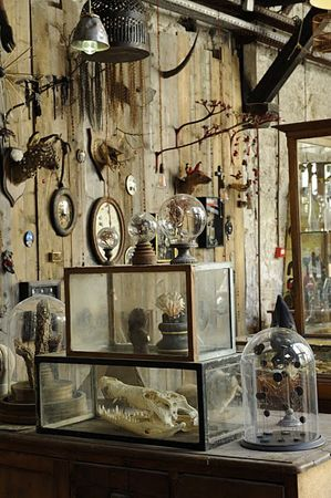 1974, Parigi. Installation inspired by Witchcraft, Voodoo, and Folk Magick! Ispirata dai lavori di Joseph Cornell scoperti quando era adolescente, Maissa Toulet crea collage di oggetti e immagini. …