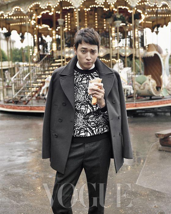 Kang Dong Won for VOGUE