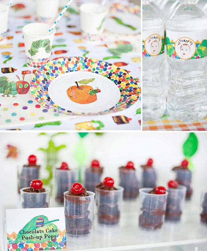 """Host a birthday party inspired by the children's book """"The Very Hungry Caterpillar!"""""""