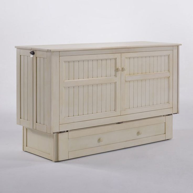 Daisy Queen Murphy Cabinet Bed Buttercream by Night&Day Furniture