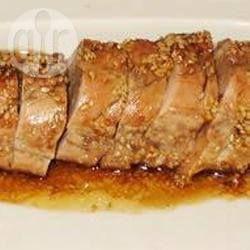 Filet de porc glacé au miel @ qc.allrecipes.ca