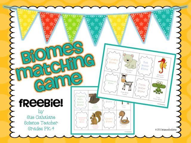 Biomes Freebie