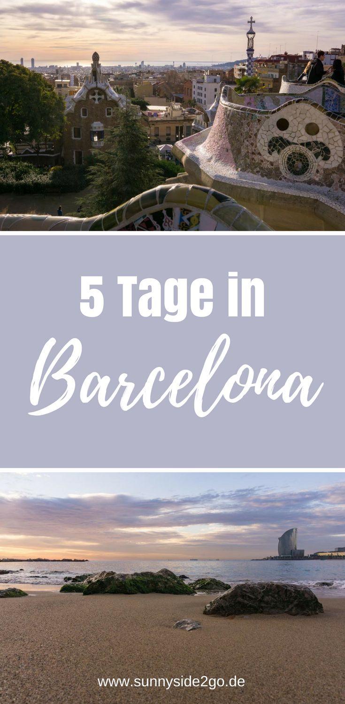 Tipps und Sehenswürdigkeiten für einen Kurztrip nach Barcelona