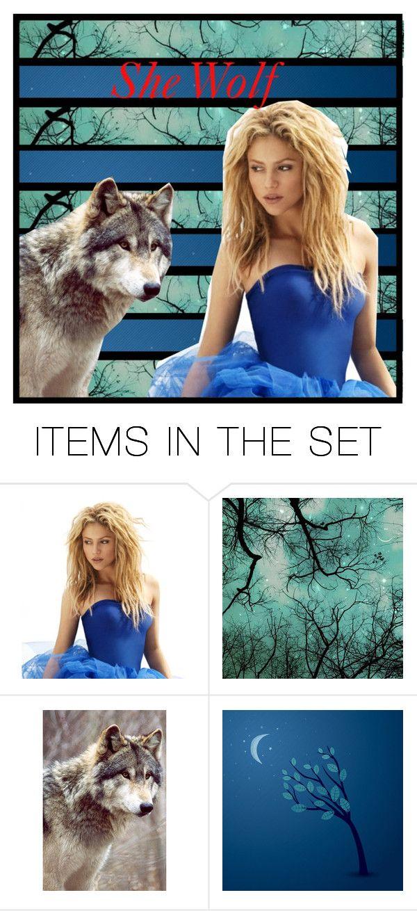 """She wolf- Shakira"" by kaykaylovesgaga ❤ liked on Polyvore featuring art"