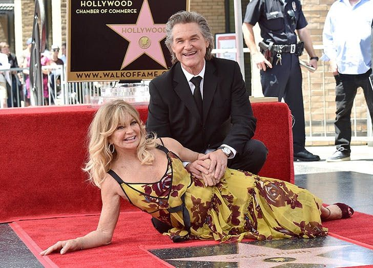 Goldie Hawn and Kurt Russell  Though they've never made it official, this power couple has been together since 1983. BRB, watching Overboard for the 700th time.