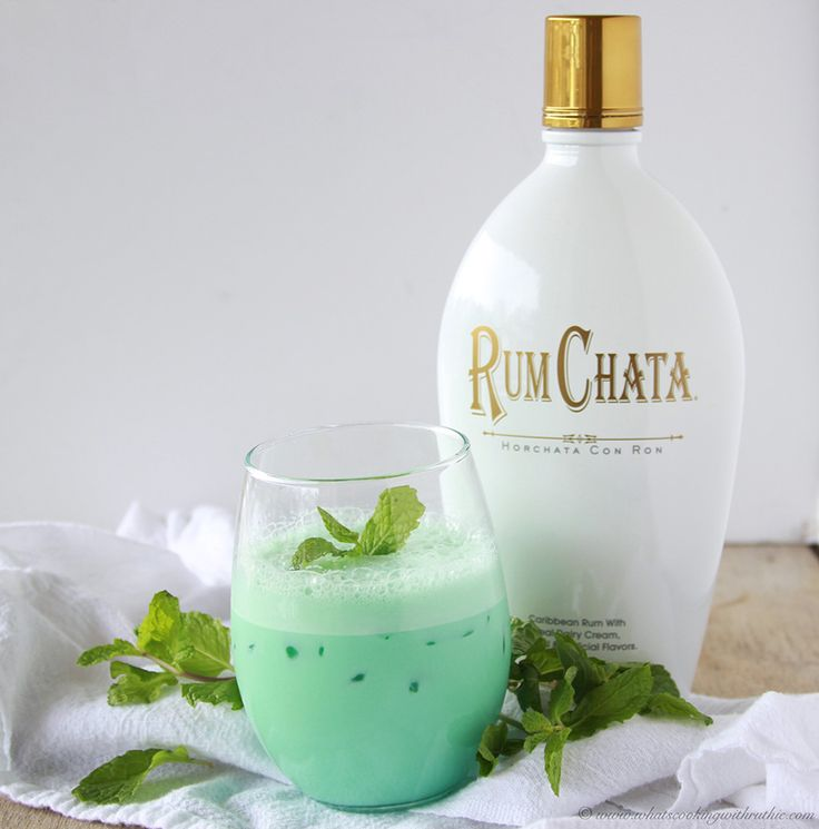 Creme de Menthe Cocktail on www.cookingwithruthie.com is a beautiful way to toast in the New Year!