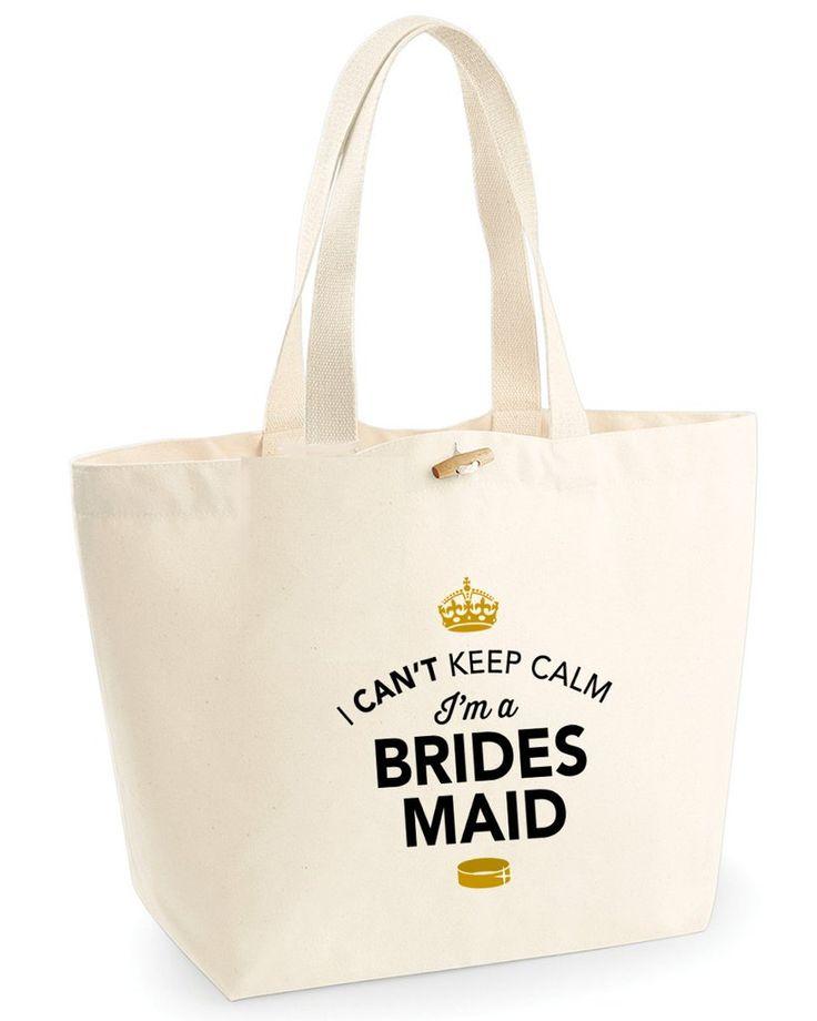 I'm a Brides Maid Tote Bag, Hen Party, Bachelorette Party, Hen Party Bag, Brides Maid gifts, Hen Do Gifts, Ideas For Brides Maid, Brides Maid present, Shopping Bag, Brides Maid Bag, Tote Bag, Hen Party Gift Bag, Brides Maid keepsake, Team Bride