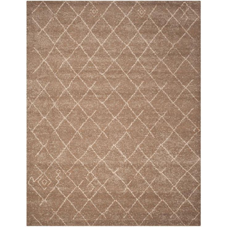 Elegant Tunisia Brown 8 Ft. X 10 Ft. Area Rug