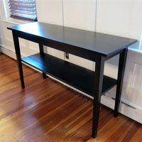 Marvelous Painting Furniture: Black Stain Vs Black Paint Via @InMyOwnStyle
