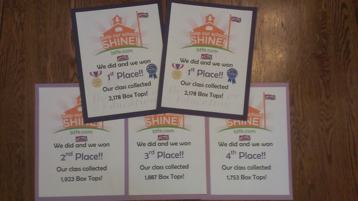 Classroom Ideas Awards ~ Best images about boxtops awards and trophies ideas on