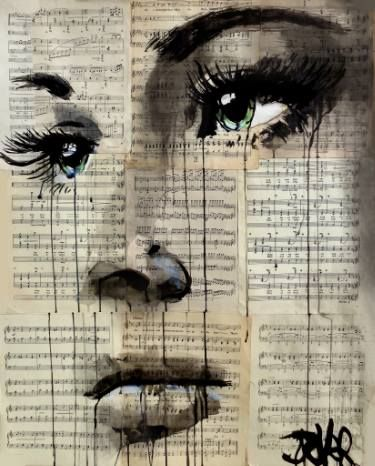 "Saatchi Art Artist Loui Jover; Drawing, ""shore"" #art"