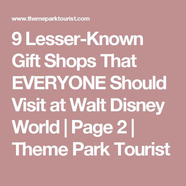 9 Lesser-Known Gift Shops That EVERYONE Should Visit at Walt Disney World | Page 2 | Theme Park Tourist
