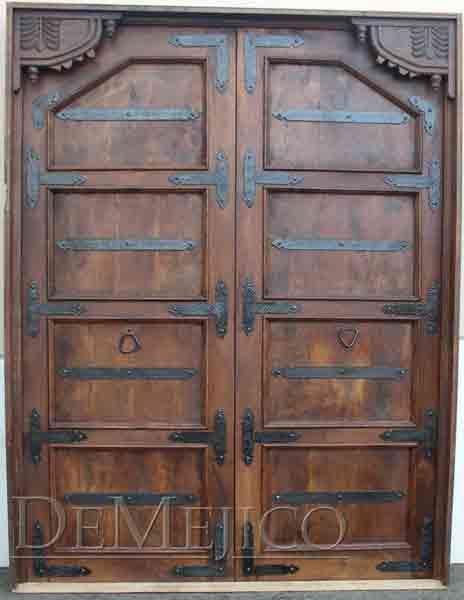 Hacienda Style Entry Doors