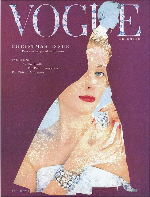 Vogue DECEMBER BY BLUMENFELD: Covers Christmas, Christmas Issues, Christmas December, Vogue December, Covers Magazine, Vogue Magazines, Magazines Covers, Vintage Vogue, Vogue Covers