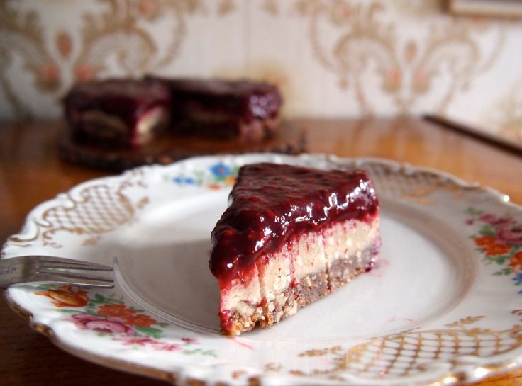 Vegan 'cheesecake'