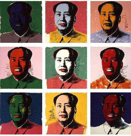アンディー・ウォーホル『毛沢東』ポップ・アート