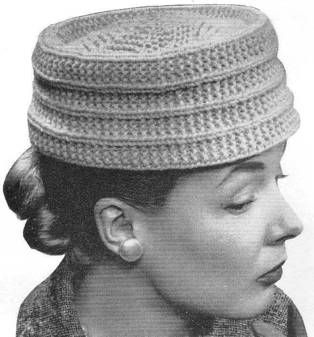 Knitting Pattern Vintage Hat : 1000+ images about Crochet/Knit Hats on Pinterest Pill ...