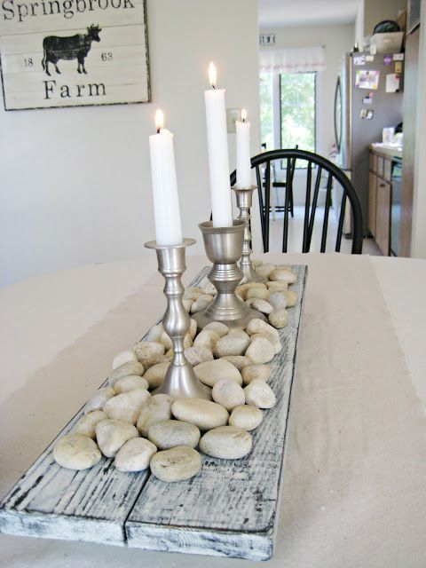 Happy At Home Would love to do my own spin on this for my autumn table