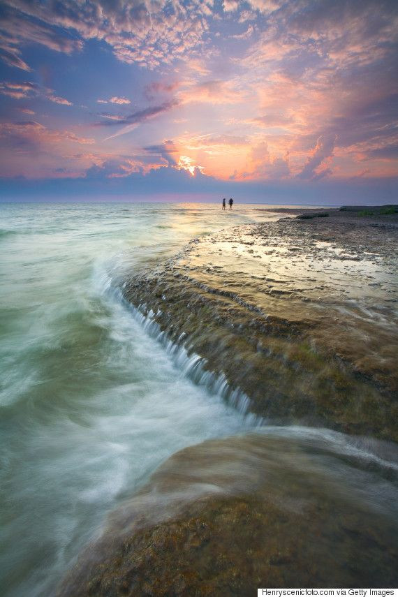 sandbanks provincial park -worlds largest baymouth barrier dune