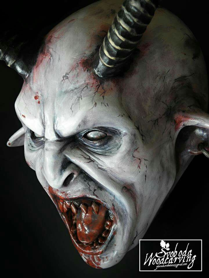 Krampus mask | Krampus masky | Pinterest | More Krampus ...
