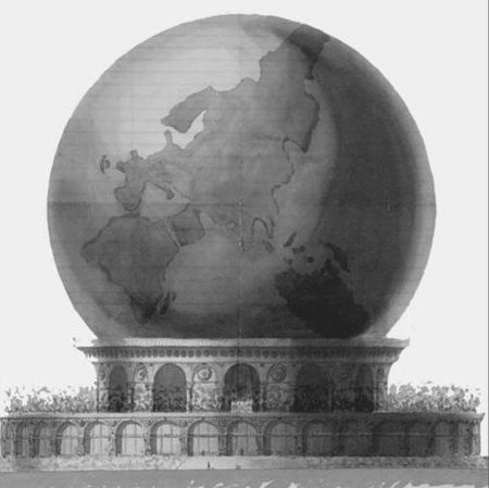 Globe elisée Reclus