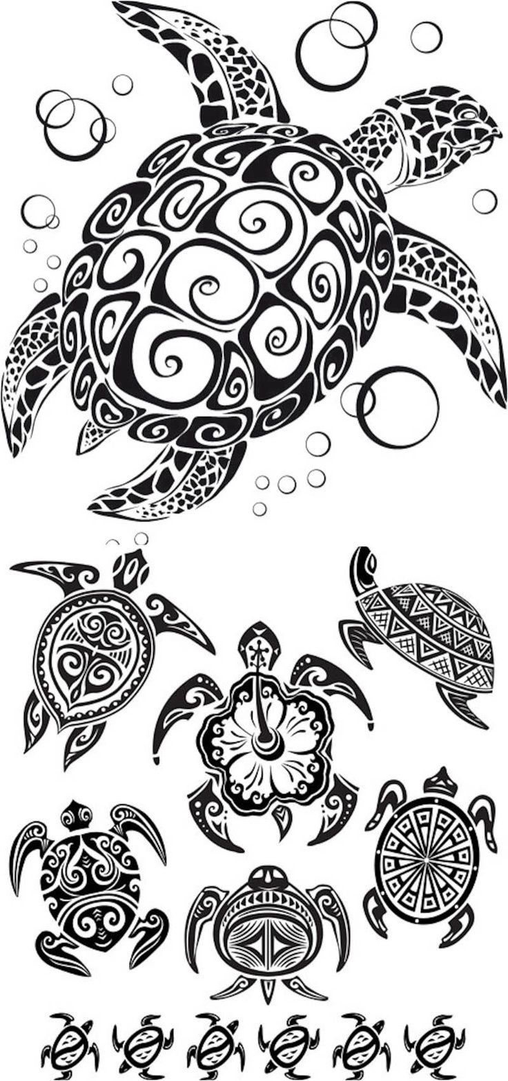 Hawaiian tribal designs- missin hawaii so much!