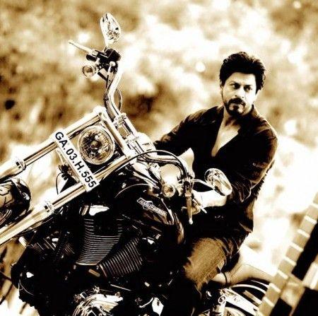 SRK, Rohit Shetty and bikes!