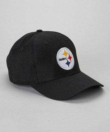 Take a look at this Black Pittsburgh Steelers Baseball Cap - Adult by NFL  on  zulily today!  65d9e84a2c1