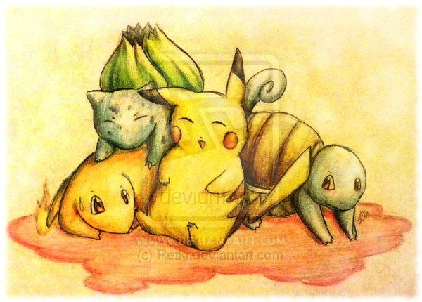 pokemon yellow by RetkiKosmos.deviantart.com on @deviantART