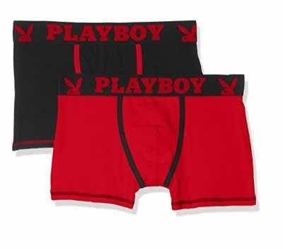 Playboy Calzoncillos Para Hombre Pack de 2 Ofertas especiales y promociones  Caracteristicas Del Producto: - 93% Algodón, 7% Elastano - Lavar a maquin