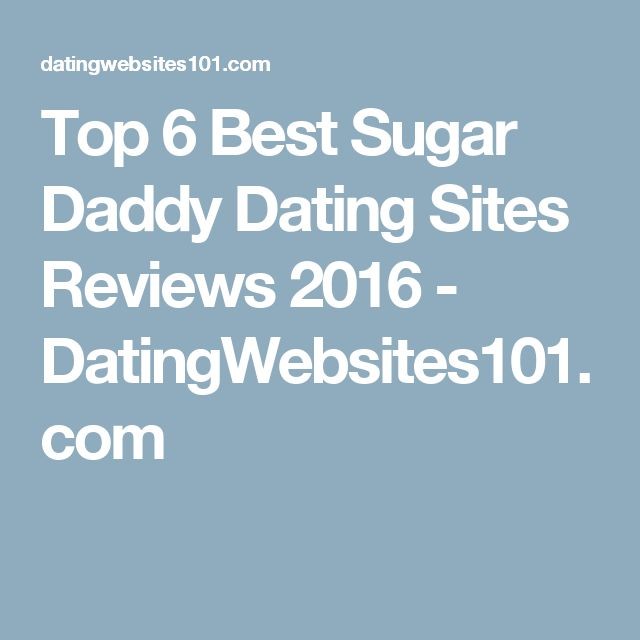 Internet dating sugar daddies
