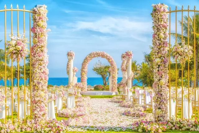 InterContinental Sanya Haitang Bay Resort: Theme Lawn Wedding – Dream Garden