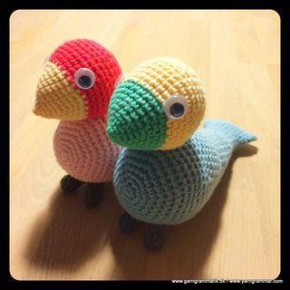 Den smukke sangfugl fra Kay Bojesen… | Garn Grammatik | Bloglovin'