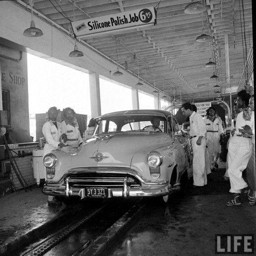 53 best 100 years of car wash images on pinterest car cleaning muller bros car wash 1951 photo by allan grant solutioingenieria Choice Image