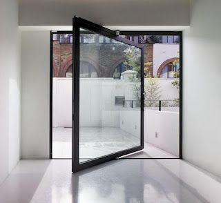 My life will have pivot doors in it