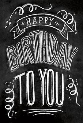 "HAPPY BIRTHDAY TO YOU   SIZE: 4.75"" x 7"" INCLUDES COORDINATING ENVELOPE"