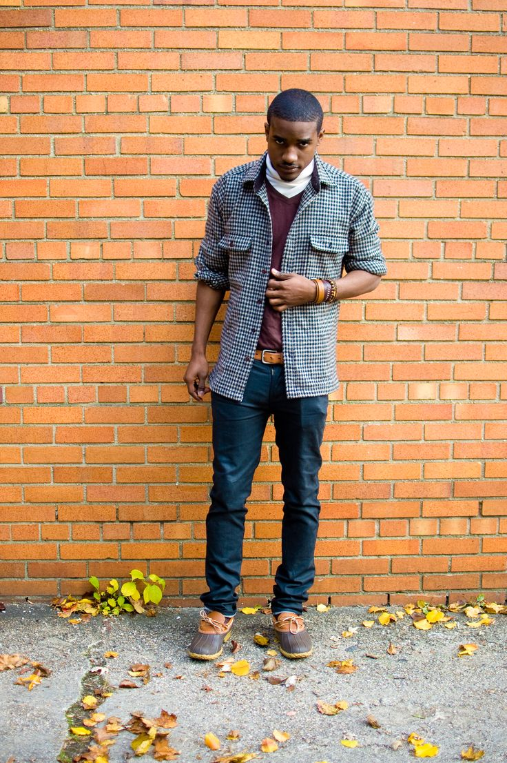 how to wear bean boots men