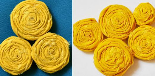 Questi semplici e bei fiori in tessuto arrotolato sono semplicissimi da realizzare e fanno una bellissima figura, specialmente se le facciamo con strisce di tessuto dai colori caldi e con i bordi sfrangiati, come questo insieme di fiori gialli. Oggi condividiamo un tutorial tramite diyfashion per imparare a fare fiori in tessuto, perfetti per realizzare spille ed altri accessori DIY.      Fiori in tessuto arrotolato   Per realizzare questi piccoli fiori in tessuto arrotolato iniziamo con una…
