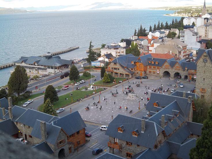 Centro Civico y Puerto de San Carlos De Bariloche, provincia de Rio Negro, Argentina