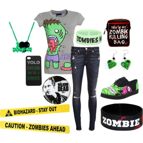 ZOMBIE clothes, cough cough... Kenzie.