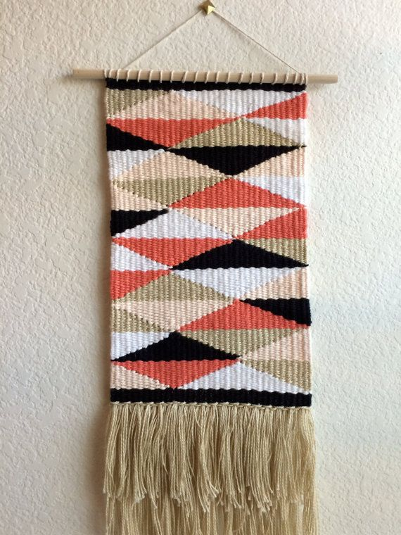 Woven Tapestry // Wall Hanging by SPECIALIKE on Etsy, $45.00