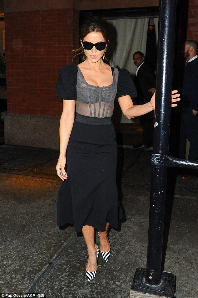 Fresh start:Kate was seen out and about in in New York City for the first time since her ...