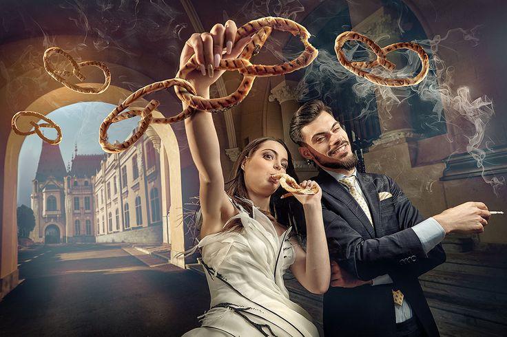 Make up si coafura mire si mireasa Seminar Wedding Photo by Sergey Ivanov. Beauty creators of Donna Carina Iasi.