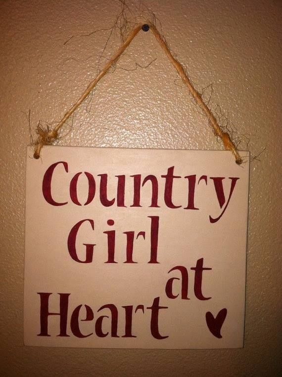 Country girl at heart.