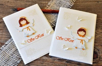 CottageBLOG: Nativity Angel and Fancy Butterfly Vine