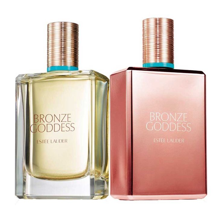 Bronze Goddess 2017 - Announced as a sensual and sunny fragrance, Bronze Goddess EDP blends citrusy aromas of bergamot with milky white flowers, vanilla and warm amber. The top notes are bergamot, ginger and mandarin. Indian sambac jasmine, creamy coconut and frangipani form the heart of perfume, based on vanilla, cashmere wood, musk and amber.