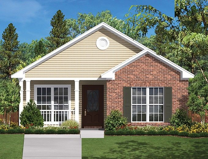 ePlans Ranch House Plan – Efficient Two Bedroom Plan – 850 Square Feet and 2 Bedrooms from ePlans – House Plan Code HWEPL76981