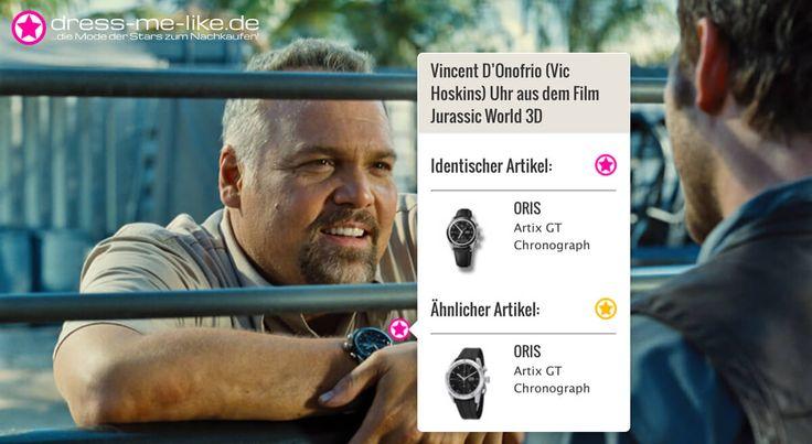 Vincent D'Onofrio (Vic Hoskins) Uhr (ORIS - Artix GT Chronograph) aus dem Film Jurassic World 3D