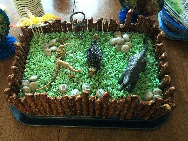 Dinosaurier Kuchen Selber Machen