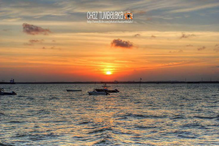Sunset in Balikpapan